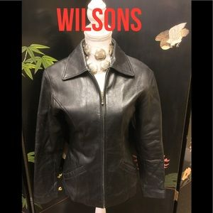 Vintage Wilson's Fitted Leather Jacket